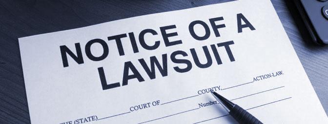 Notice of Lawsuit