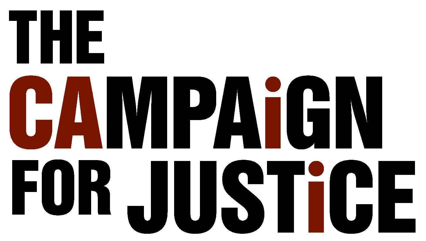 October is Campaign for Justice month!