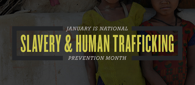 Presidential Proclamation — National Slavery and Human Trafficking Prevention Month, 2017